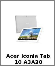 Acer Iconia Tab 10 A3A20