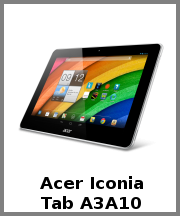 Acer Iconia Tab A3A10