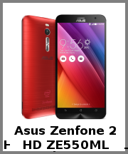 Asus Zenfone 2 HD ZE550ML