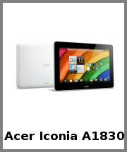 Acer Iconia A1830