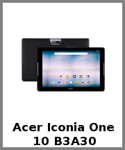 Acer Iconia One 10 B3A30