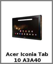Acer Iconia Tab 10 A3A40