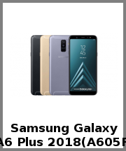 Samsung Galaxy A6 Plus 2018(A605F)