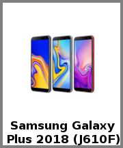 Samsung Galaxy J6 Plus 2018 (J610F)