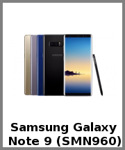 Samsung Galaxy Note 9 (SMN960)