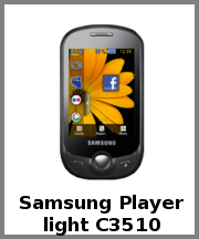 Samsung Player light C3510